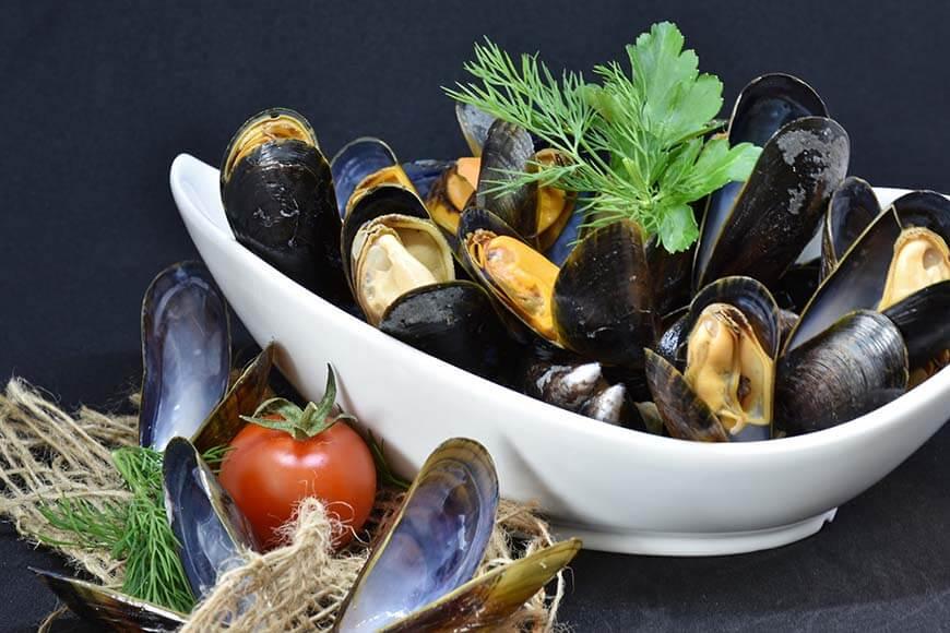 Conservazione dei molluschi bivalvi vivi